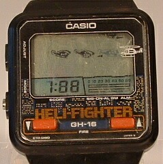 ea43f7447ac1 Casio nerd game watches from 70s and 80s